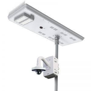 SECURITY LIGHTING WITH CAMERAS 120W Remote View Solar Surveillance System Wi-Fi