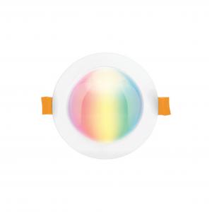 SMART  Epic 10W RGB + CCT LED BT Mesh Downlight RND (White)