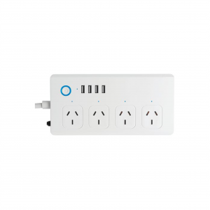 SMART  Wi-Fi Powerboard (x4) with USB Charger