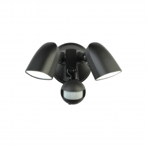 SMART  Escort CCT LED Twin Head Sensor Light 2x11W