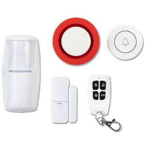 SMART SECURITY Wi-Fi Home Security Kit