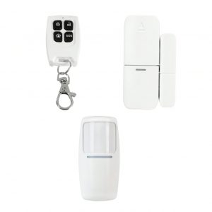 SMART SECURITY Wi-Fi Home Security Kit Accessories